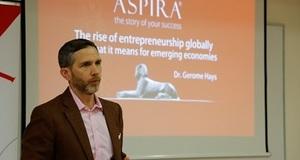 Predavanje Dr. Geromea Haysa na Aspiri