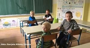 Tri brata jedini učenici u školi u malom slavonskom selu
